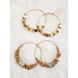 Forever 21 Gold Fashion Earrings